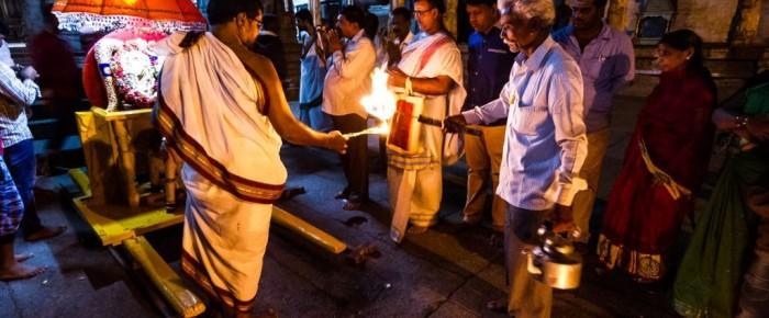 Photo of today – Uctievanie boha Šivu v ruinách indického chrámu Virupaksha