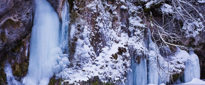 V zajatí Slovenského raja – zimný prielom Hornádu. (fotoesej)