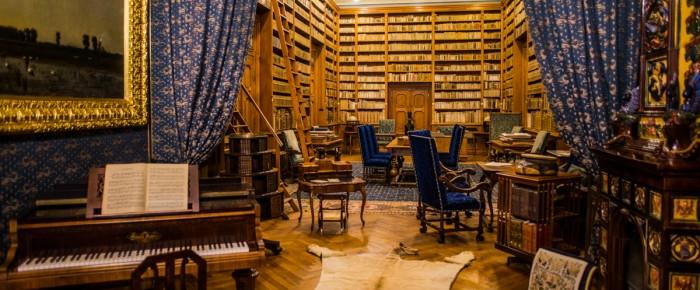 Photo of today – Nádherná knižnica v kaštieli Betliar.