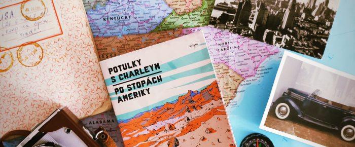 Rubrika s knihami na cestách. Po stopách Ameriky, John Steinbeck.