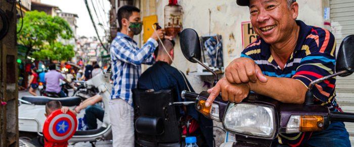 Portrét mesta – vietnamský Hanoj, kde sa vôňa jedla mieša s ruchom ulíc. (fotoreportáž)